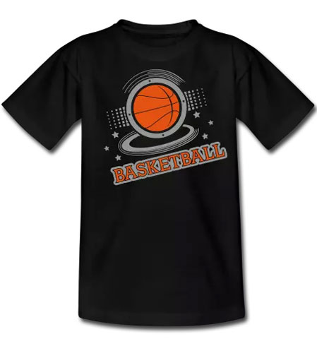tee shirt basketball