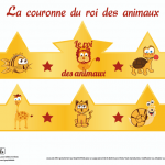 couronne-animaux-graphick-kids-tshirt-enfants-bebes