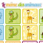 L'activité du mercredi : le mémo des animaux