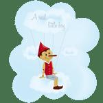 Un nouveau motif dans la boutique : Pinocchio