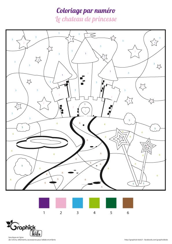 L 39 activit du mercredi le ch teau de princesse - Dessin d un chateau ...
