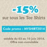 Promotion sur tous les Tee Shirts
