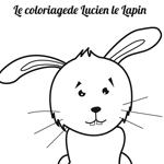 L'activité du mercredi : Le coloriage Lucien le lapin