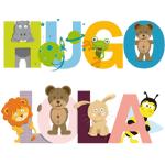 Bientôt Chez GraphiCK-Kids : Les prénoms des kids illustrés