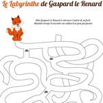 L'activité du mercredi : Le Labyrinthe de Gaspard le renard