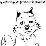 L'activité du mercredi : le coloriage de Gaspard le Renard
