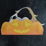 L'activité du mercredi : Le panier à bonbons d'Halloween