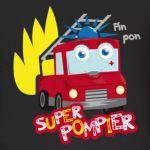 tee shirt camion super pompier