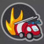 tee shirt enfant pompier