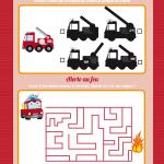 mini-jeux de pompiers