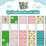 L'activité du mercredi : Les dominos des min'kids