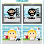 jeu-des-différences-bandit-infirmiere