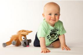 tee shirt bébé motard