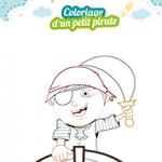 L'activité du mercredi : le coloriage d'un petit pirate