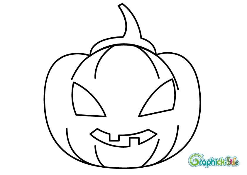 Le on de dessin 1 la citrouille d 39 halloween en 10 tapes graphick kids - Faire une citrouille d halloween ...