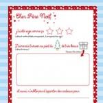 L'activité du mercredi : la lettre au père Noël