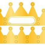 L'activité du mercredi : la couronne des rois à gommettes