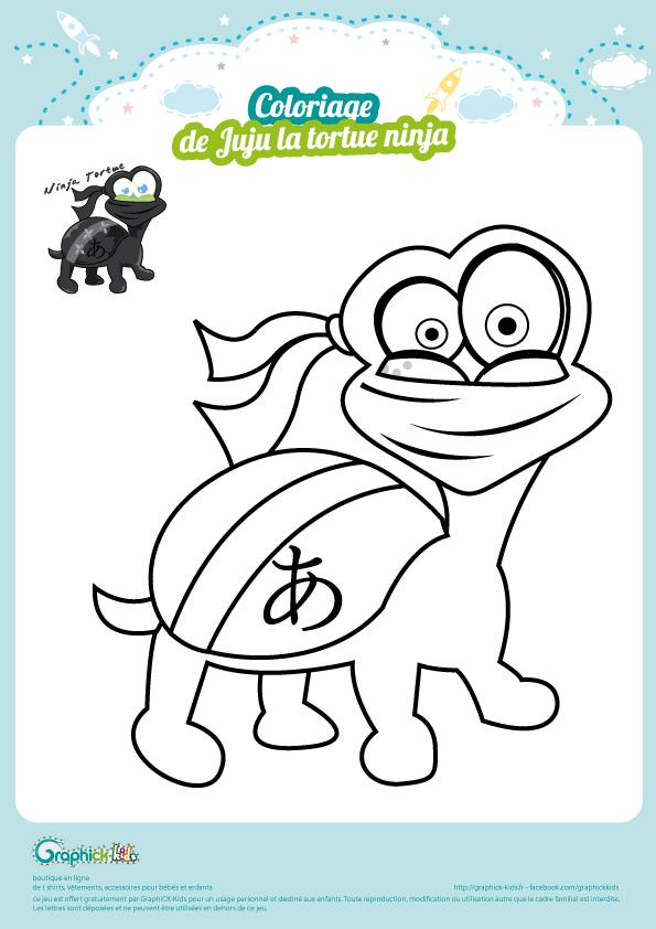 Les animaux coloriages graphick kids - Jeux de tortue ninja gratuit ...