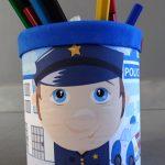 L'activité du mercredi : fabriquer son pot à crayon