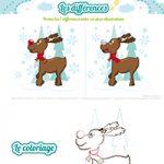 L'activité du mercredi : Rudolph le renne