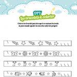 L'activité du mercredi : Bracelets à colorier DIY