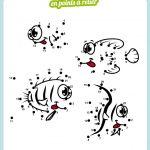 poisson points à relier