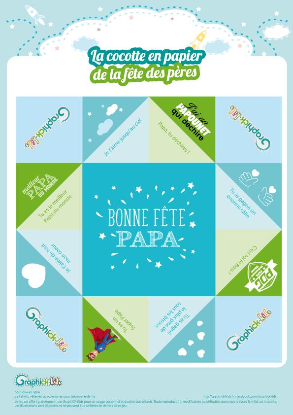 L Activite Du Mercredi La Cocotte En Papier Fete Des Peres