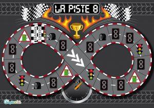 jeu de course de voiture la piste 8