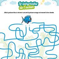L'activité du mercredi : le labyrinthe de l'océan