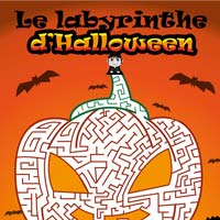 labyrinthe citrouille halloween