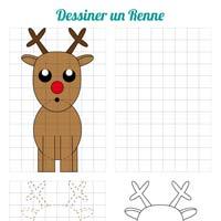 L'activité du mercredi : dessiner un renne