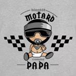 tee shirt bébé futur motard