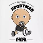 tee shirt bébé futur rugbyman