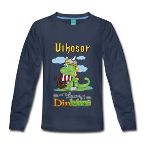 Tee shirt enfant Dinosaure viking