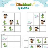 L'activité du mercredi : le sudoku des Dinhéros