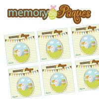 L'activité du mercredi : le memory de Pâques