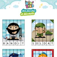 puzzle lettres min'kids