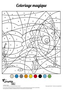 poisson avril coloriage magique 1er avril