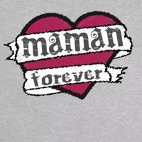 tee shirt enfant bébé tatouage maman forever
