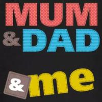 tee shirt enfant bébé amour mum dad and me