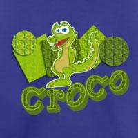 tee shirt enfant bébé crocodile
