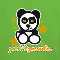 tee shirt enfant bébé petit panda