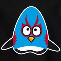 tee shirt enfant bébé pingouin catcheur