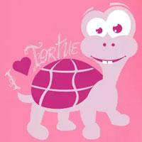 tee shirt enfant bébé tortue personnalisable