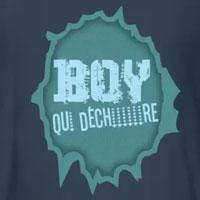 tee shirt enfant bébé garçon boy qui déchire