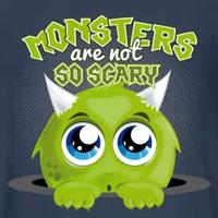 tee shirt enfant bébé monstre