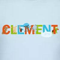 tee shirt enfant bébé prénom clément
