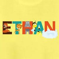 tee shirt enfant bébé prénom ethan