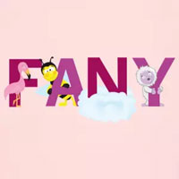 tee shirt enfant bébé prénom fany