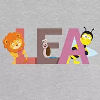 tee shirt enfant bébé prénom léa